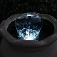 water fountain with lights container fountain kit with light totalpond