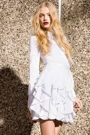 white dress by rachel zoe resort 2018