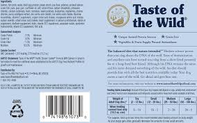 amazon com taste of the wild pacific stream canine formula with