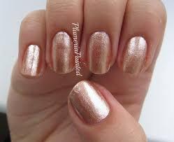 light brown nail polish plumeriapainted brown nails the face shop gl112