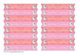 kitty straw flags printable u2014 printable treats