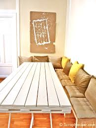 Making Dining Room Table D I Y Pallet Dining Table A 10 Step Tutorial