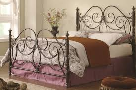 wrought iron bed images