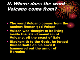 chapter 7 volcano volcano vent in the earth s surface that often