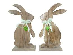 easter rabbits decorations wood easter bunny decoration buy easter bunny easter decoration