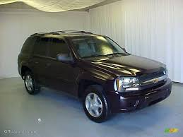 chevrolet trailblazer 2008 2008 dark cherry metallic chevrolet trailblazer ls 30485098