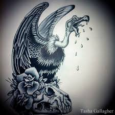 simple vulture tattoo vultures drawing at getdrawings com free for personal use vultures
