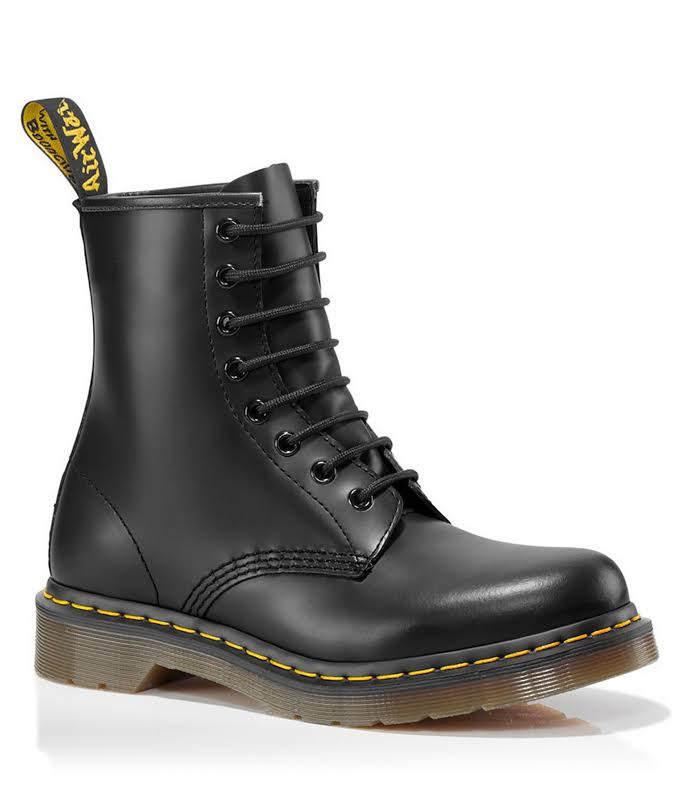 Dr. Martens 1460 Smooth R11821006 Black Casual Dress Boots Shoes