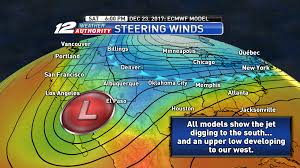 Jet Stream Forecast Map Texoma Snow And Ice Blog Posted December 15th