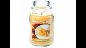 yankee candle review warm apple crisp returning favorite for