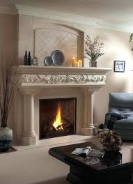 fireplace interesting fireplace mantel ornaments for living space