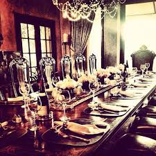 set table to dinner nicole richie set the table for dinner celebrities on