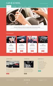 Free Online Certificate Template Best Driving School Website Templates Free Premium Templates