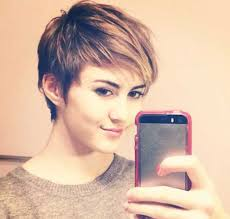 images of womens short hairstyles with layered low hairline best 25 pixie cut with bangs ideas on pinterest cute pixie cuts