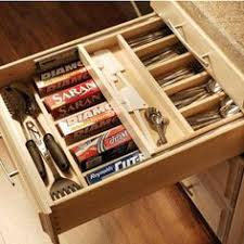 kitchen cabinet knife drawer organizers the container store deluxe knife dock awesome way to store knives