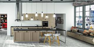 plan cuisine moderne cuisine contemporaine bois couleur cuisine moderne meubles rangement