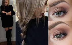 hair makeup cozy fall hair makeup