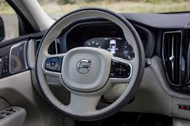 volvo steering wheel 2018 land rover range rover velar vs volvo xc60 an interior