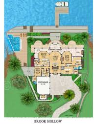 brook hollow lakefront house plan luxury house plans