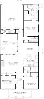 lake house plans for narrow lots house plan lake narrow lot cool southern plans ranch best cottage