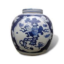 ginger jar ginger jar with blue and white underglaze decoration