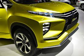 mitsubishi crossover 2016 concept models at 33rd thailand international motor expo 2016