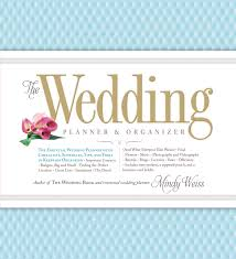 wedding planning book organizer the wedding planner organizer weiss 9780761165972