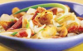 cuisiner endives cuites recette endives cuites aux lardons pas chère et simple cuisine