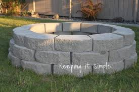 fire pit ideas with pavers fire pit ideas for backyard