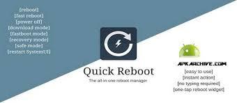 fast reboot pro apk apk mania reboot pro root v1 3 apk
