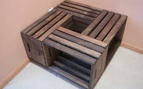 coffee table coffeeble crate wine dimensionscratebles and end