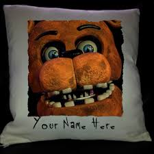 Personalised Home Decor Five Nights At Freddys Freddy Face Personalised Cushion Cover Fnaf