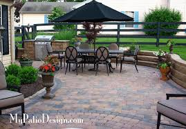 Backyard Paver Patio Ideas How To Design A Paver Patio Mypatiodesign Com