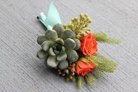 Succulent Boutonniere 21 Best Succulent Corsage Images On Pinterest Boutonnieres