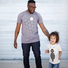 gift for dad hive u0026 honey bee father u0026 child t shirt gift set for dads gray