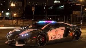 Lamborghini Aventador La Police 3d Model Cgtrader