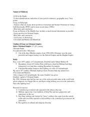 Ottoman Empire Essay Ottoman Empire Study Resources