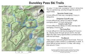 Aspen Map Oric Colorado Steamboat Region Winter Trails Index Page