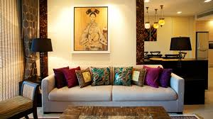 elegant living room asian designs with sofa also cushions between