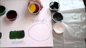 art 1 unit 5 how to mix paint brown youtube