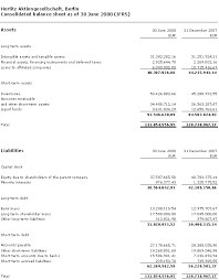 Interim Balance Sheet Template Adidas Financial Statements Template Best Template Collection