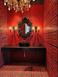 Red Bathroom Designs Colors 143 Best Style Drama Images On Pinterest Architecture Bathroom