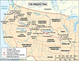 map of oregon country 1846 oregon trail historical trail united states britannica
