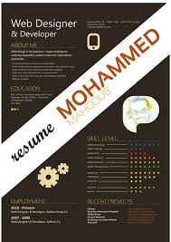 Graphic Design Resumes Samples by 30 Examples Of Creative Graphic Design Resumes Infographics