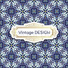 antique vintage card wedding azulejos in portuguese tiles style