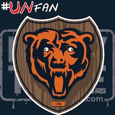 Bears Packers Meme - funny bears parody logo unfan vikings bears packers lions nfl
