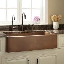 Rustic Kitchen Sink Wonderful Copper Kitchen Sink Randy Gregory Design Rustic