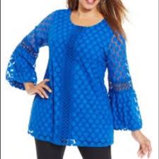 alfani blouses 82 alfani tops alfani cobalt sea shorelines blouse