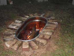 Small Patio Fire Pit Surprising Fire Pit Ideas For Small Backyard Images Design Ideas
