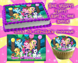 edible cake images my pony edible cake toppers image sheet sugar paper